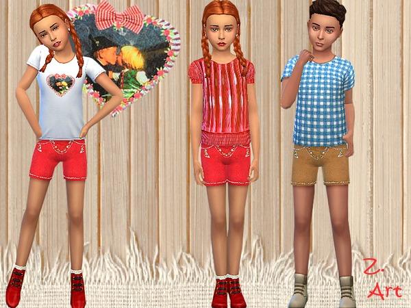 Sims 4 Little Folk Set by Zuckerschnute20 at TSR