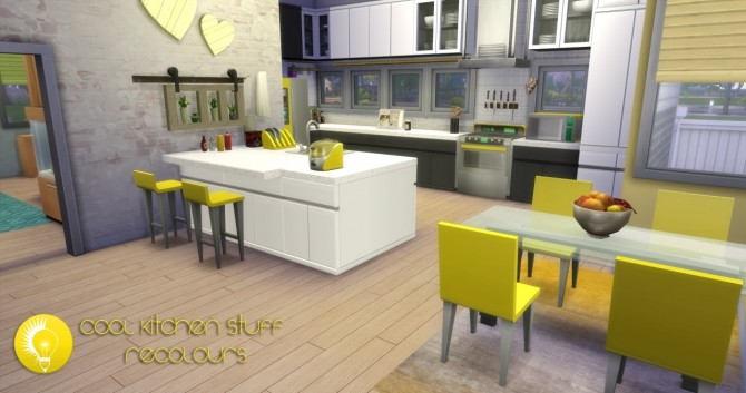 Cool kitchen stuff recolors at jorgha haq sims 4 updates for Kitchen ideas sims 4
