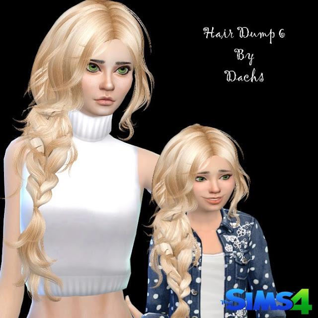 Hair Dump 6 at Dachs Sims image 14913 Sims 4 Updates