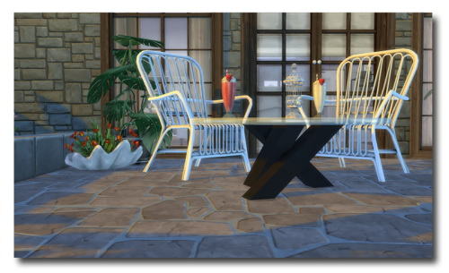 Sims 4 TS2 To TS4 Marcus Sims' Kalico Sofa & Chair at Msteaqueen
