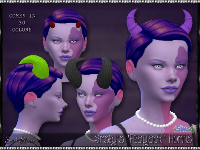 Sims 4 Flapjack Horns at SrslySims