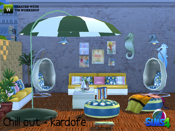 Chill out set by kardofe at TSR image 1524 Sims 4 Updates