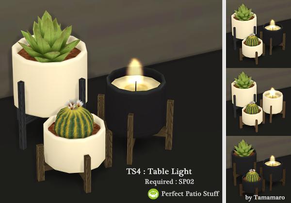 Table Light at Tamamaro image 1540 Sims 4 Updates