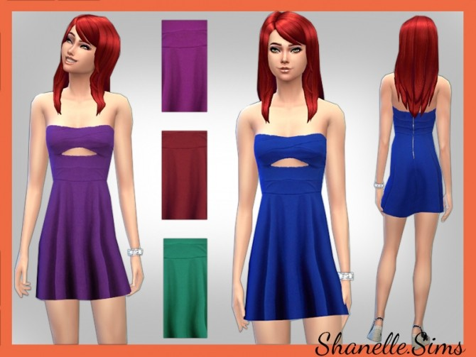 Sims 4 Dress set at Shanelle Sims