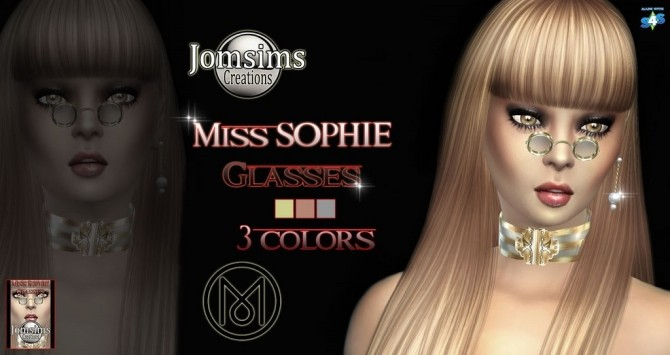 Sims 4 Miss sophie glasses at Jomsims Creations
