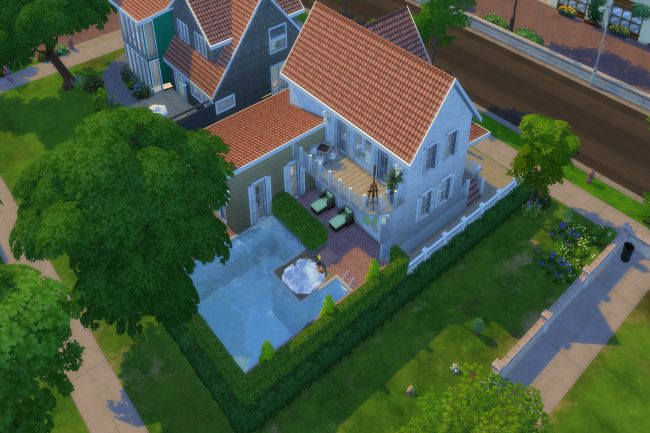 Sims 4 Farnpark house by ChiLLi at Blacky's Sims Zoo