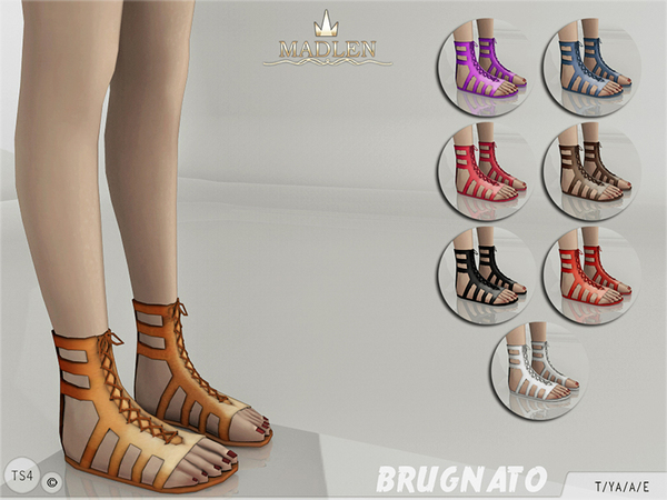 Madlen Brugnato Shoes by MJ95 at TSR image 1600 Sims 4 Updates