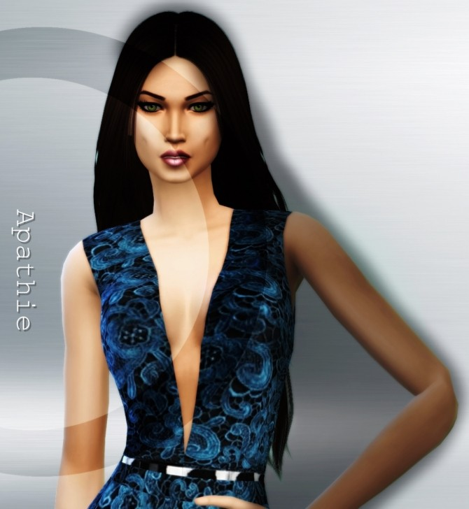 Blue Corone outfit at Apathie image 16014 670x728 Sims 4 Updates