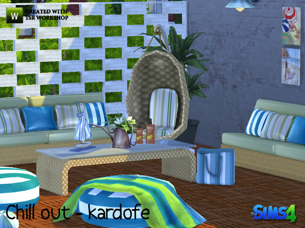 Chill out set by kardofe at TSR image 1620 Sims 4 Updates