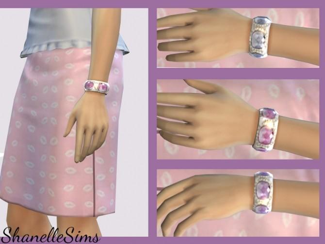Jeweled bracelet at Shanelle Sims image 166 670x503 Sims 4 Updates