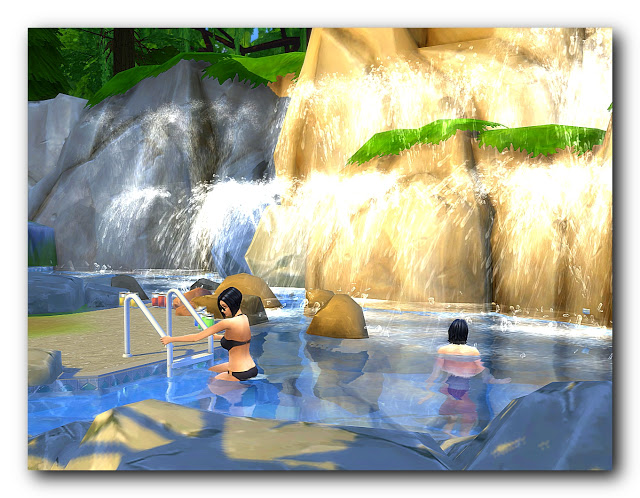 Sims 4 Eco Spa hotel Faus at Architectural tricks from Dalila