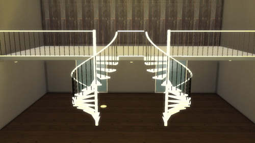 Sims 4 Spiral Stairs as Decoration at LindseyxSims