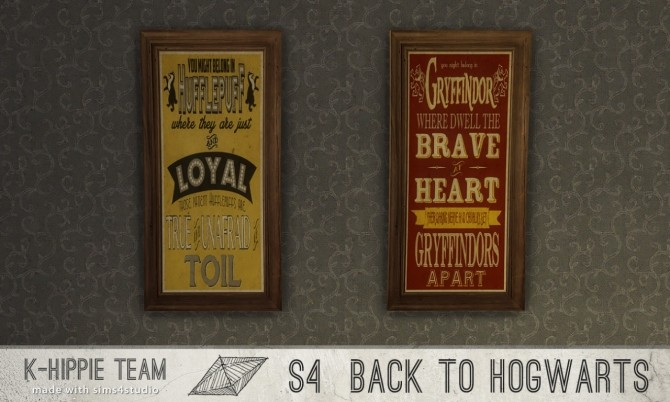 Back to Hogwarts 7 artworks HP World serie vol 1 & 2 at K hippie image 16714 670x402 Sims 4 Updates