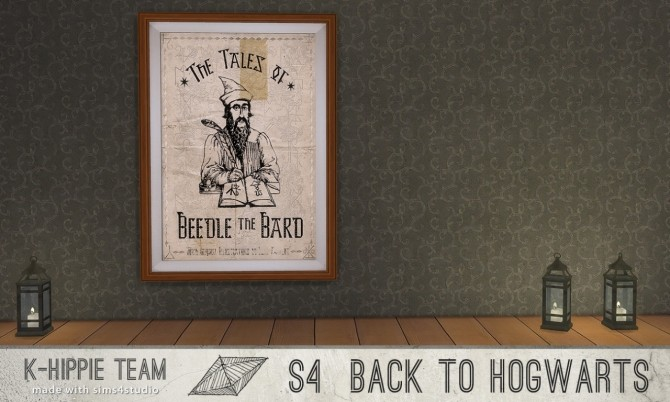 Back to Hogwarts 10 Artworks HP World serie vol 3 at K hippie image 17118 670x402 Sims 4 Updates