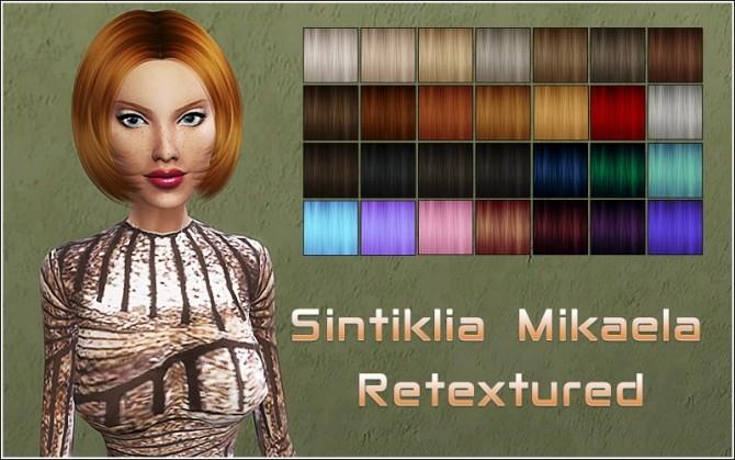 Sims 4 Sintiklia Mikaela hair retexture at Nylsims