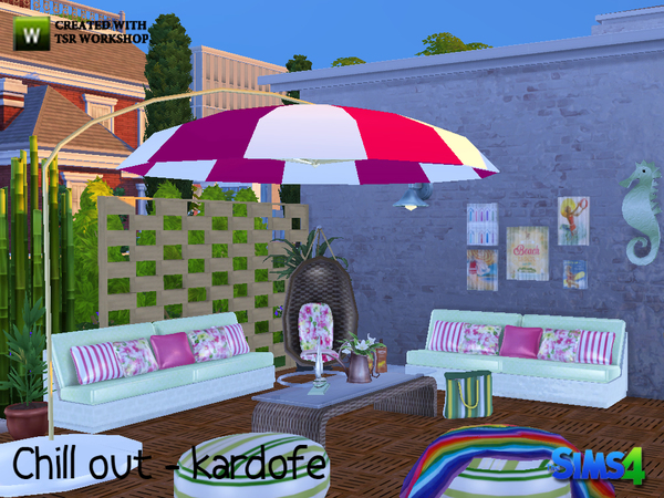 Chill out set by kardofe at TSR image 1724 Sims 4 Updates