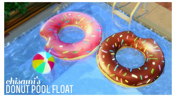 Donut Pool Float At Chisami 187 Sims 4 Updates