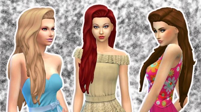 Liberty Hair By Kiara Zurk At My Stuff 187 Sims 4 Updates
