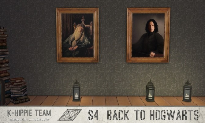 Back to Hogwarts 7 Paintings vol 1 at K hippie image 17613 670x402 Sims 4 Updates