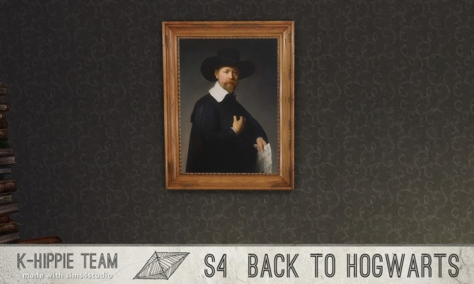 Back to Hogwarts 7 Paintings vol 1 at K hippie image 17713 670x402 Sims 4 Updates