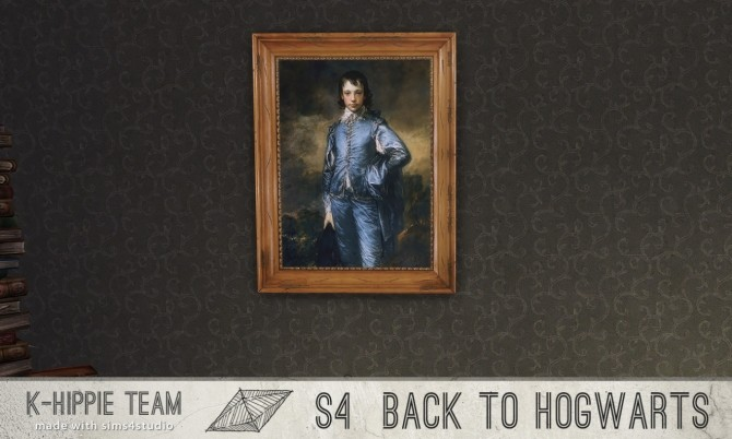 Back to Hogwarts 7 Paintings vol 1 at K hippie image 17913 670x402 Sims 4 Updates