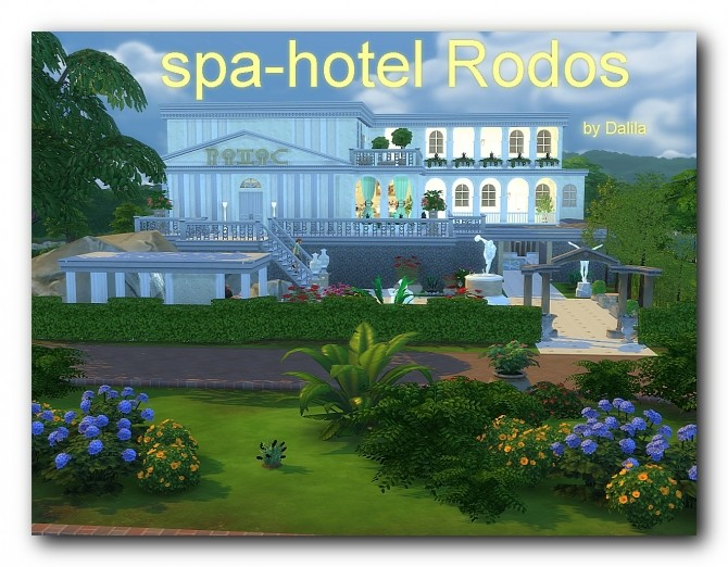 Spa hotel Rodos at Architectural tricks from Dalila image 1796 670x522 Sims 4 Updates