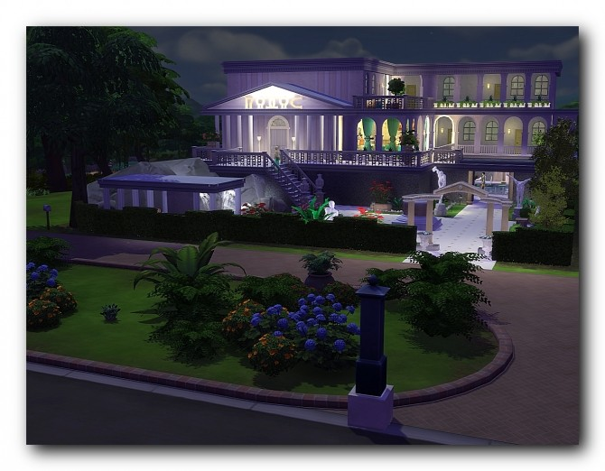 Spa hotel Rodos at Architectural tricks from Dalila image 1806 670x522 Sims 4 Updates
