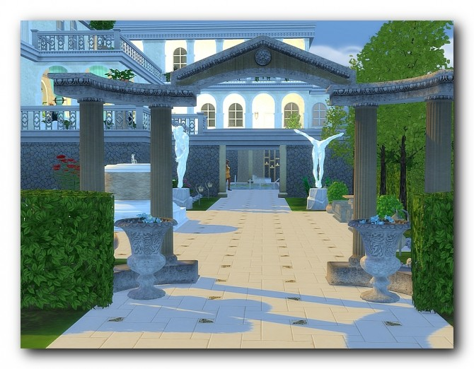 Spa hotel Rodos at Architectural tricks from Dalila image 18112 670x522 Sims 4 Updates
