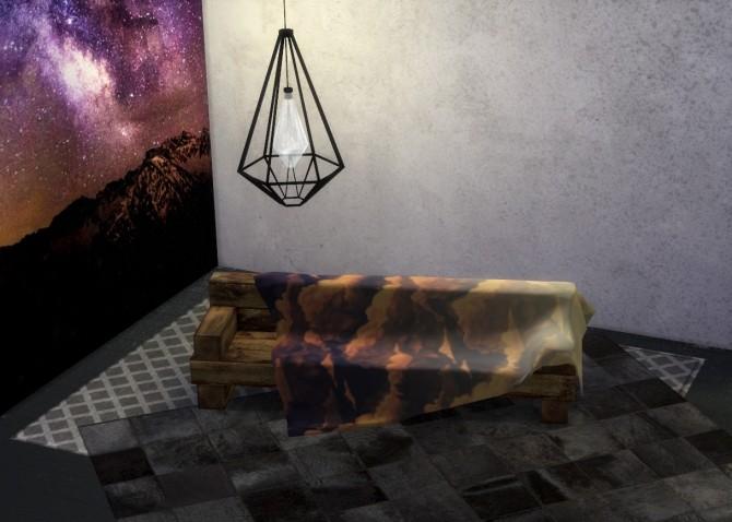Sims 4 Rustic Sofa at THINGSBYDEAN