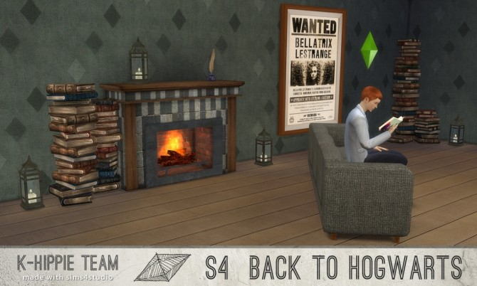 Back to Hogwarts 2 Fireplaces x 7 vol 1 at K hippie image 18119 670x402 Sims 4 Updates