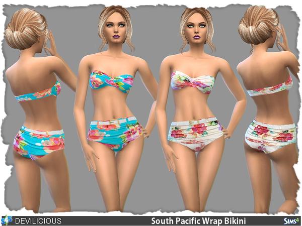 19 Sims 4 Blog: Bikini Set 2 - 4 • Sims 4 Downloads