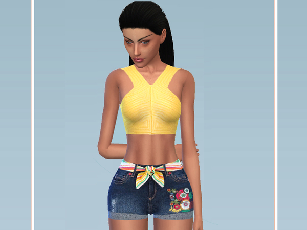 Summer Beach Look by Puresim at TSR image 1814 Sims 4 Updates