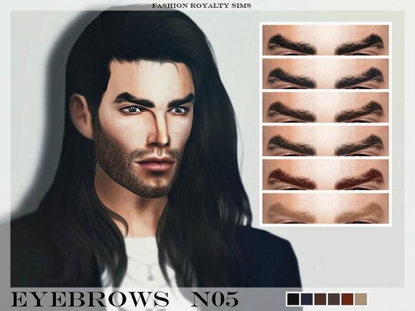Sims 4 FRS Eyebrows N05 by FashionRoyaltySims at TSR