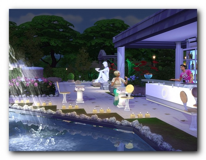 Spa hotel Rodos at Architectural tricks from Dalila image 18210 670x522 Sims 4 Updates