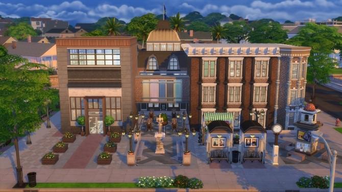 Sims 4 City Spa at Jool's Simming