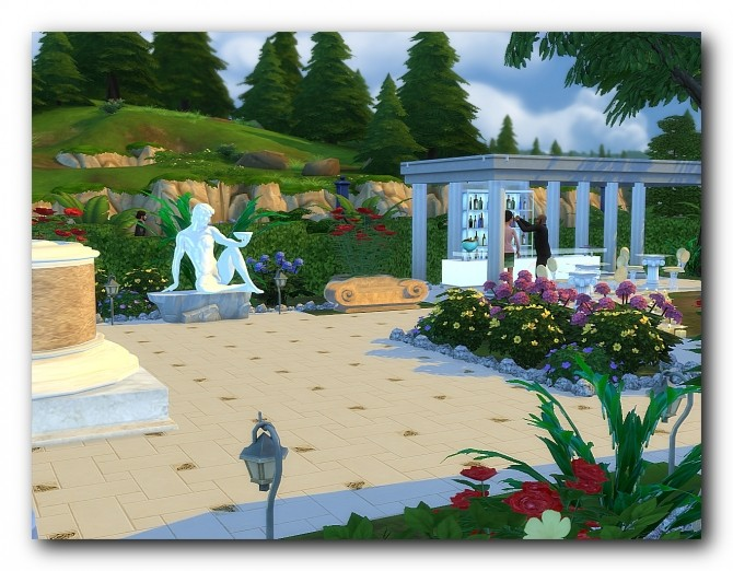 Spa hotel Rodos at Architectural tricks from Dalila image 1835 670x522 Sims 4 Updates