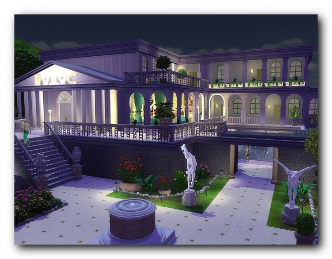 Spa hotel Rodos at Architectural tricks from Dalila image 1846 670x522 Sims 4 Updates