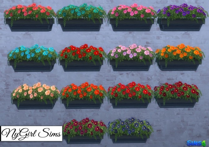 Neighborly Windowbox Recolors at NyGirl Sims image 19111 670x473 Sims 4 Updates