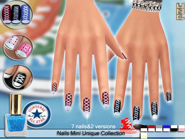 Pzc Converse Sport Shoes Nails