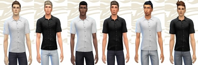 GRAPHIK shirt by Fuyaya at Sims Artists image 19212 670x219 Sims 4 Updates