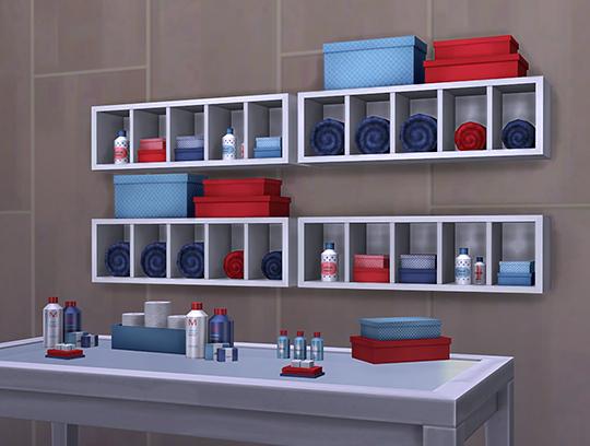 Sims 4 Bathroom Decor set at Soloriya