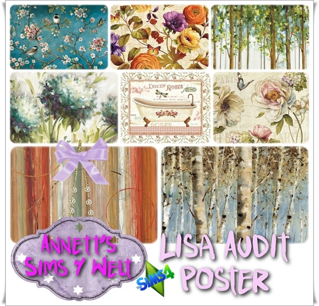 Lisa Audit Poster at Annett's Sims 4 Welt image 2006 Sims 4 Updates