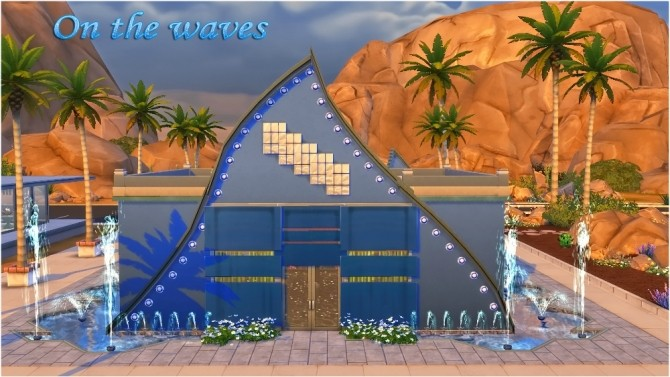 Sims 4 Nightclub On the waves by fatalist at ihelensims