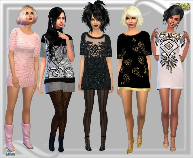 Milk  w  Cookies dress at Dreaming 4 Sims image 20210 670x548 Sims 4 Updates