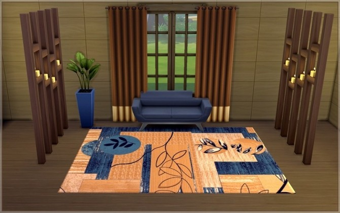 Sims 4 Helix rugs by ihelen at ihelensims