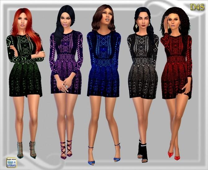 Sims 4 Tea dress at Dreaming 4 Sims