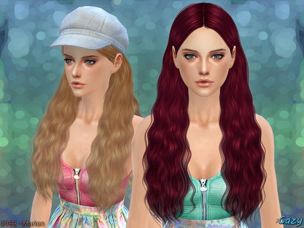 Marion Female Hair by Cazy at TSR image 2100 Sims 4 Updates