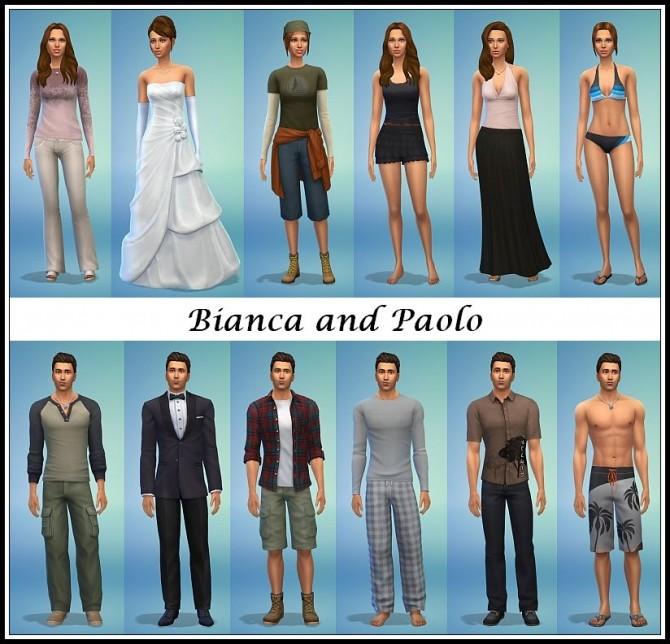 Sims 4 Gemelli Twins by Kementari at SIMplicity