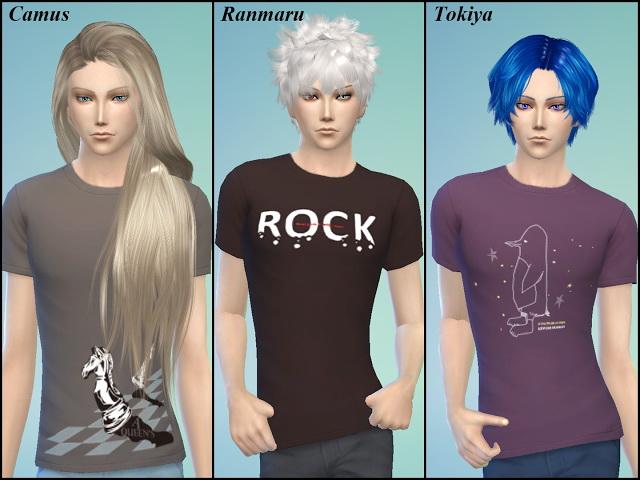 Uta No Prince Sama T Shirt at NG Sims3 image 2192 Sims 4 Updates