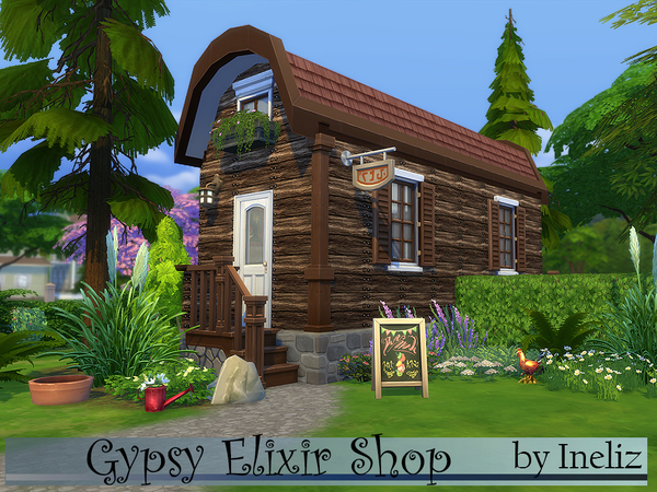 Gypsy Elixir Shop by Ineliz at TSR image 22 Sims 4 Updates
